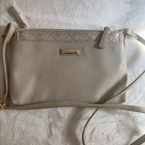 Tommy Hilfiger Beige crossbody purse with pouch